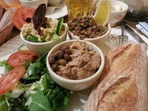 Assiette Méditerranéenne