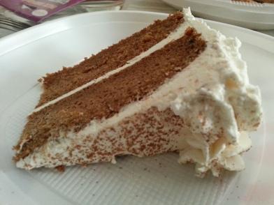 Carrot Cake de Lujuria Vegana