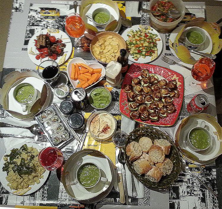 CenaVeganaAñoNuevo