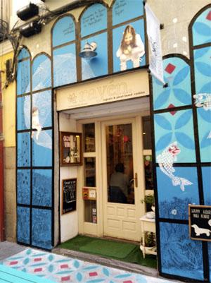 El restaurante vegano Rayén está situado en la calle Lope de Vega, 7 (Madrid)