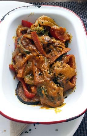 Hortalizas al curry