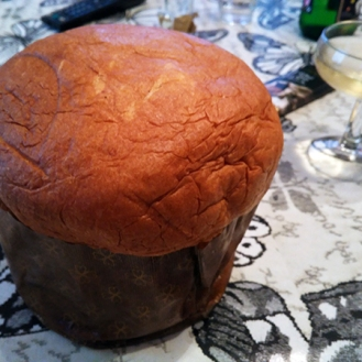 Panettone relleno de marrón glacé (500 gr)