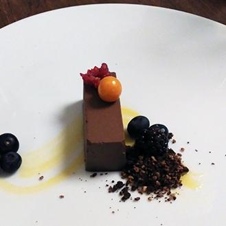 Torta raw al gianduia con crema all'albicocca _Soul Kitchen