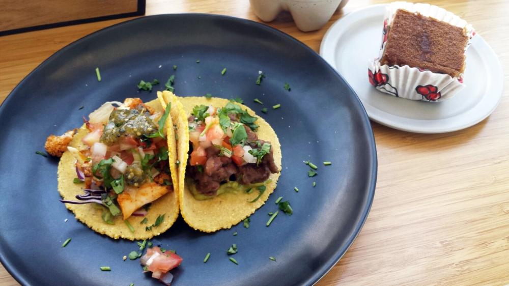 Tacos y tiramisú